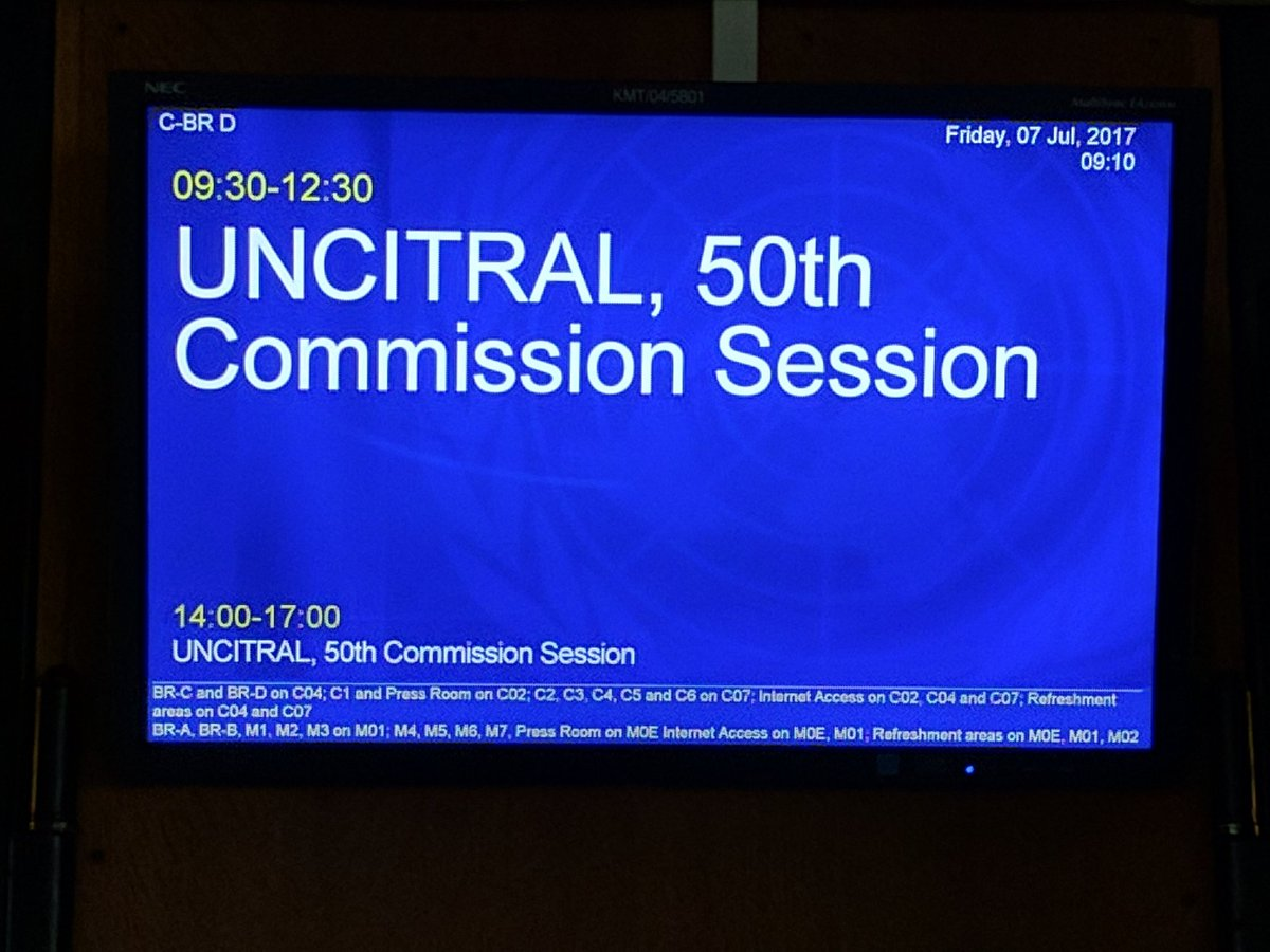 The Russian Arbitration Association in UNCITRAL-
