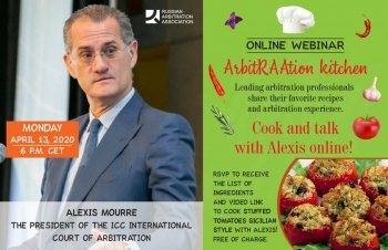 ArbitRAAtion Kitchen with Alexis Mourre
