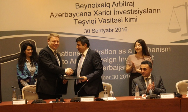 International Arbitration as a Mechanism to Attract Foreign Investment to Azerbaijan. Baku
