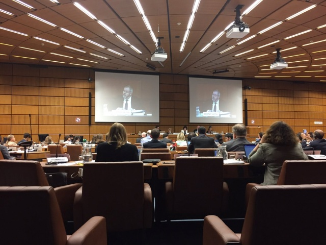 67th session of the UNCITRAL Working Group II (Dispute Settlement). Vienna