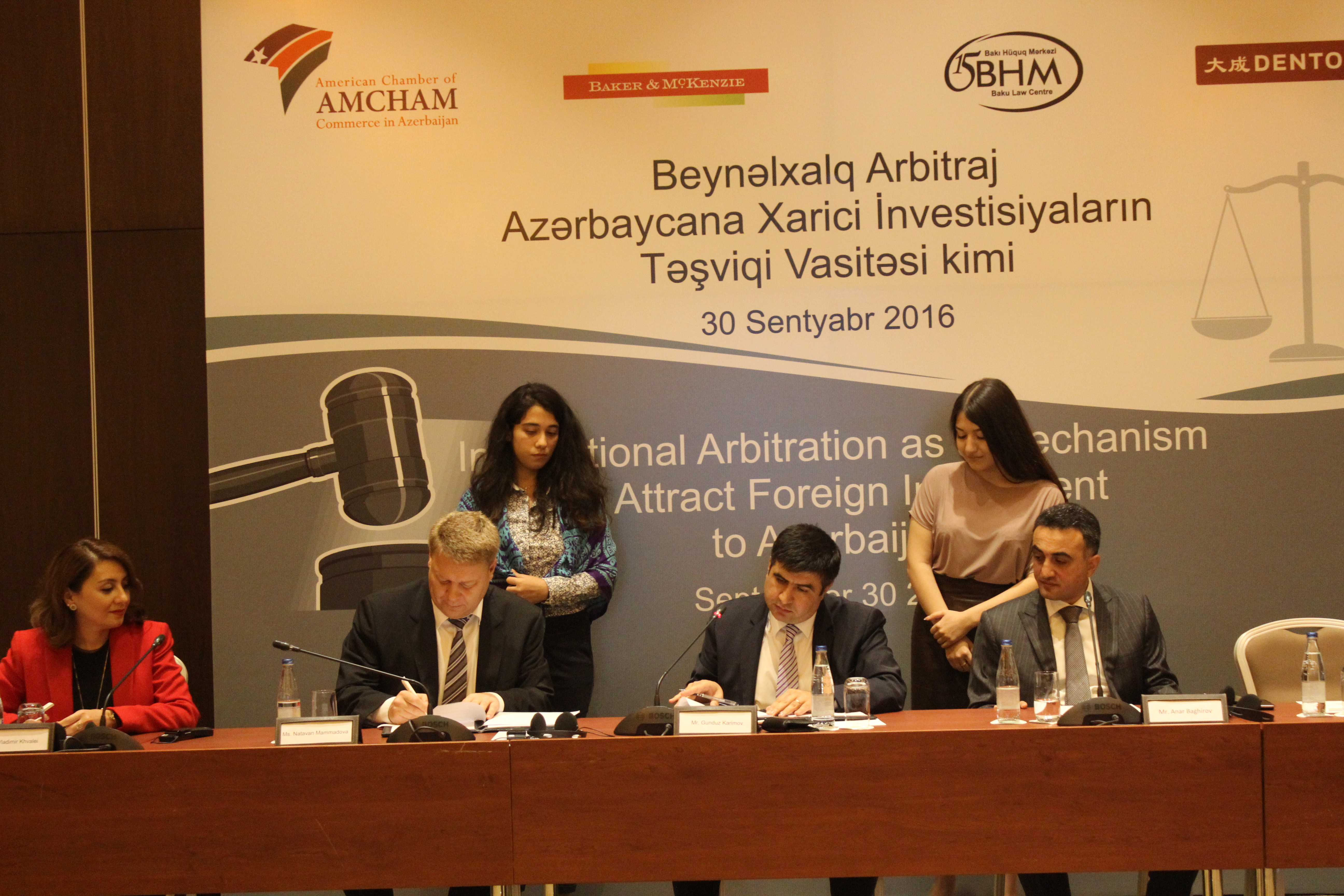 RAA signs partnership agreement with the Azerbaijan International Arbitration Court-